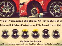STOPTECH Brake System Volkswagen Golf VII, 12 of 12