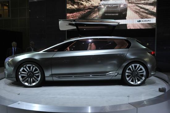 Subaru Boxer Hybrid Concept Los Angeles