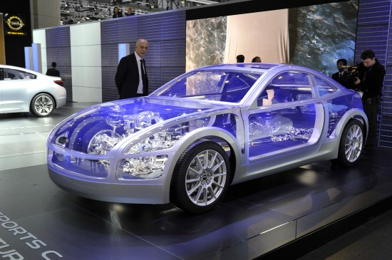 Subaru Boxer Sports Car Architecture Geneva