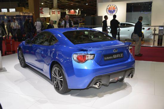 Subaru BRZ Paris