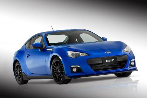 Subaru BRZ STI Concept в 2012 г. цели