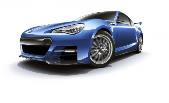 Subaru BRZ STi Concepts