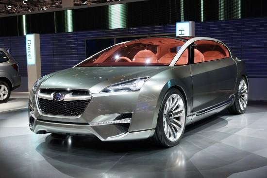 Subaru Hybrid Tourer Concept Geneva