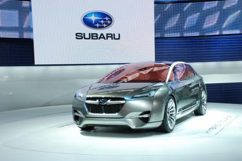 Subaru Hybrid Tourer Concept представила на Tokyo Motor show 2009