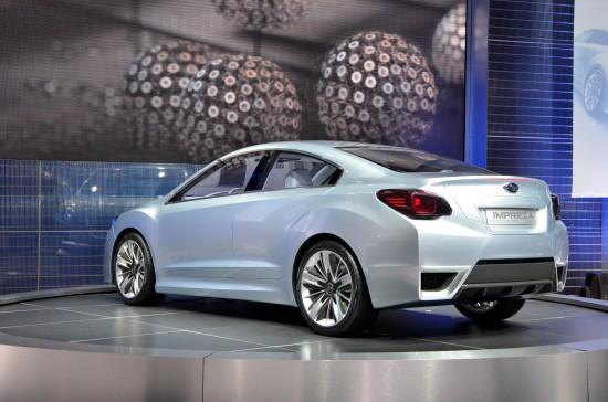 Subaru Impreza Design Concept Los Angeles