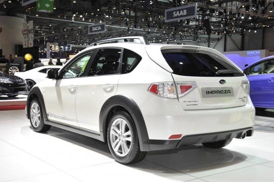 Subaru Impreza Geneva