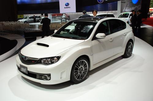 Subaru Impreza WRX STi Carbon на Tokyo Motor Show
