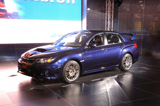 Subaru Impreza WRX STI Limited 4-Door New York