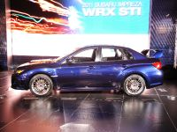 Subaru Impreza WRX STI Limited 4-Door at New York Auto Show 2010