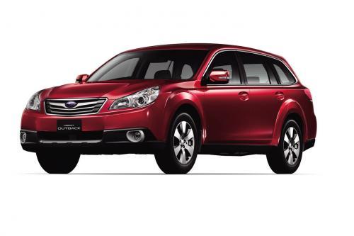 Subaru Legacy Touring Wagon, Outback B4 и все полностью переработан