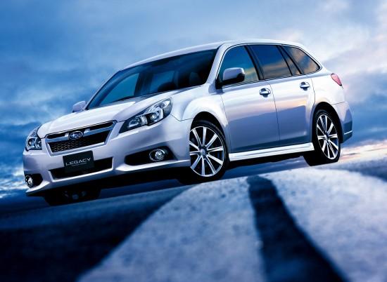 Subaru Legacy Touring Wagon and B4