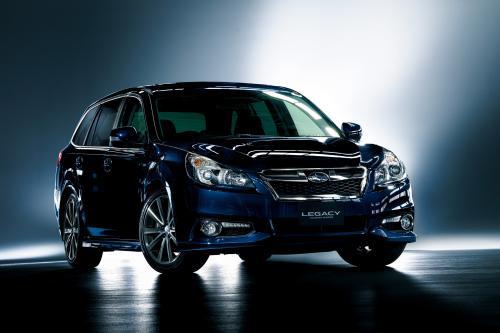 Subaru Legacy и Outback - обновленной и обновляется - фотография subaru