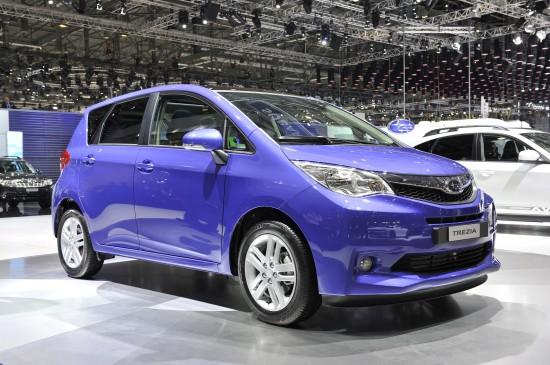 Subaru Trezia Geneva