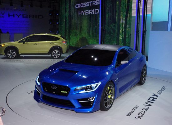 Subaru WRX Concept New York