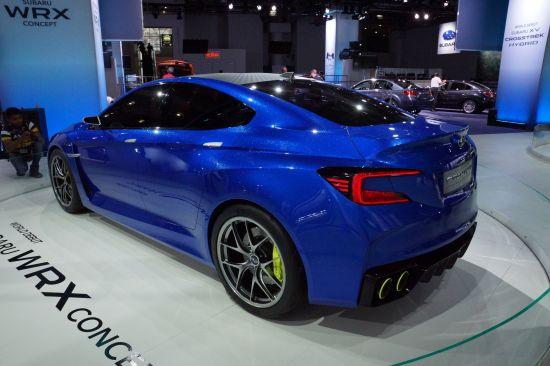 Subaru WRX Concept New York