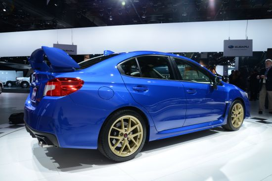 Subaru WRX STI Detroit