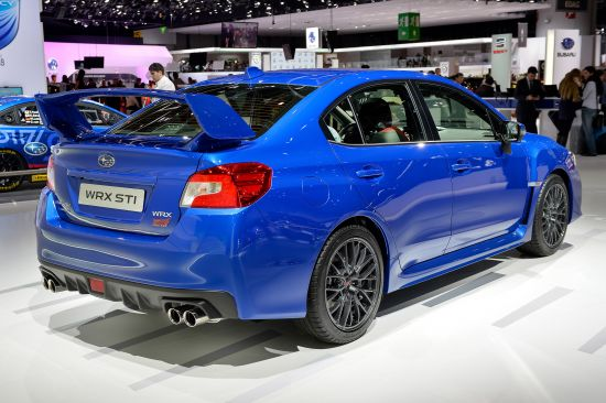 Subaru WRX STI Geneva