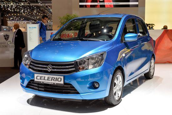 Suzuki Celerio Geneva