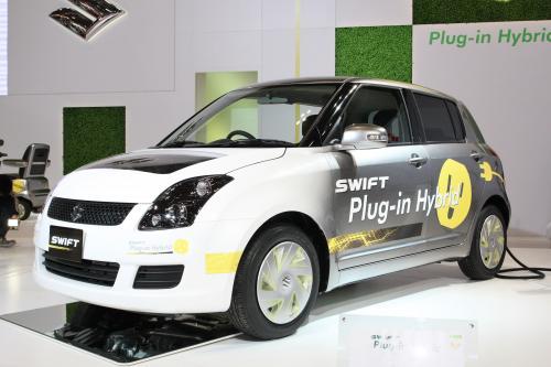 Suzuki Swift plug in hybrid Tokyo 2009 [эксклюзивные фотографии]