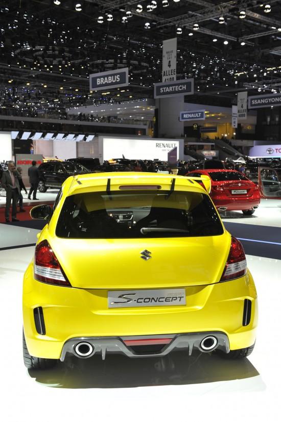 Suzuki Swift S-Concept Geneva