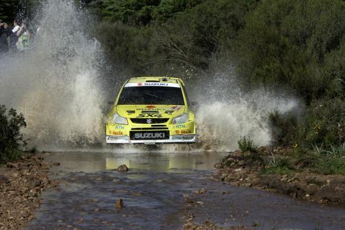 Андерсон подчеркивает Suzuki SX4 WRC надежность