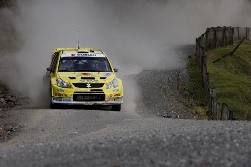 Suzuki празднует с обеих SX4 ВКР в точках в Новой Зеландии