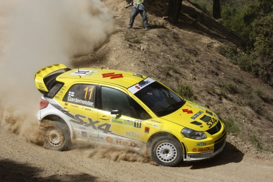 Suzuki SX4 WRC Greece