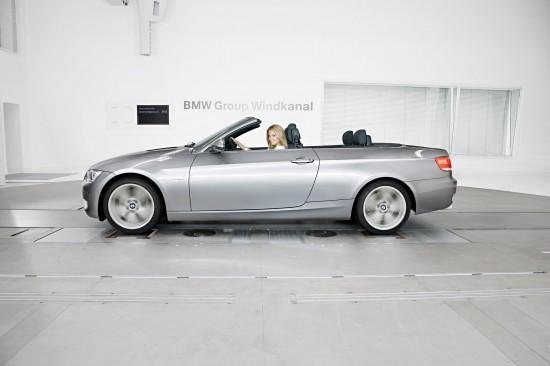 Sylvie van der Vaart in BMW wind tunel