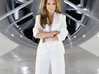 Sylvie van der Vaart in the New BMW wind tunel