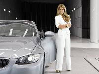 Sylvie van der Vaart in the New BMW wind tunel