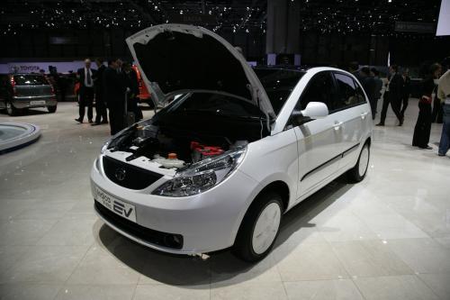 Tata Indica Vista-EV 2009 год. Фотографии.
