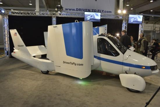 Terrafugia Transition Flying Car New York