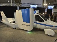 thumbnail image of Terrafugia Transition Flying Car New York 2012