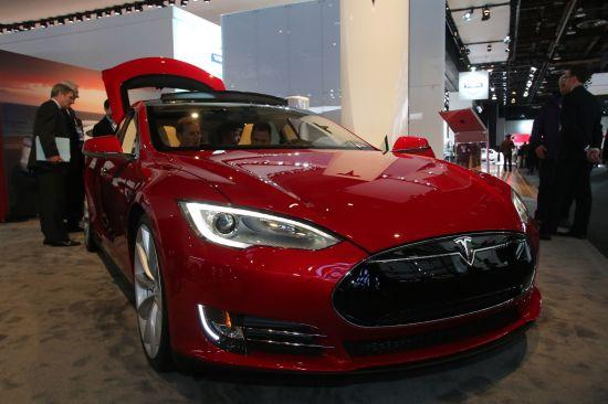 Tesla Model S Detroit