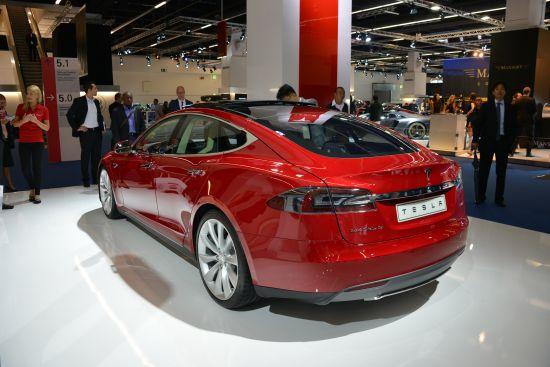 Tesla Model S Frankfurt