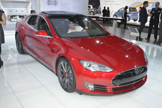 Tesla Model S P85D Detroit