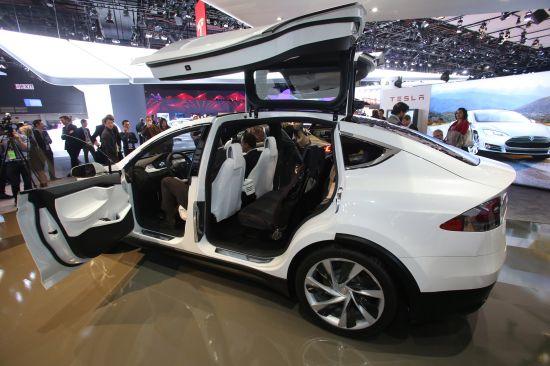 Tesla Model X Detroit