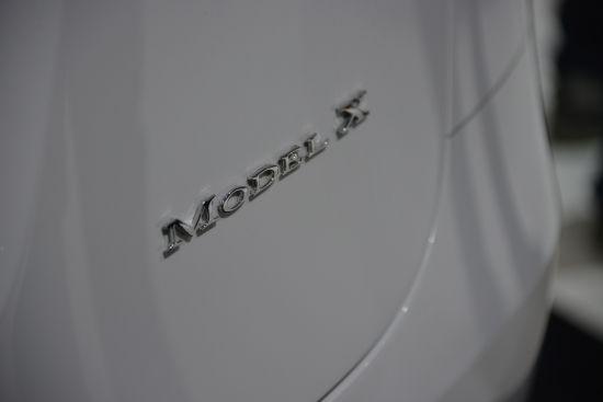 Tesla Model X Geneva