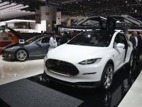 Tesla Model X Geneva 2013