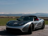 Tesla Roadster TAG Heuer - Odyssey of Pioneers world tour