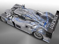 The Peugeot 908HY, 1 of 8