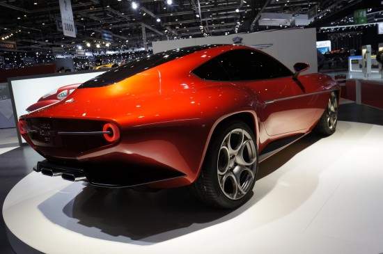 Touring Superleggera Disco Volante