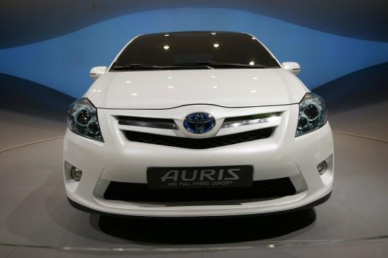 Toyota Auris HSD Full Hybrid Concept Frankfurt