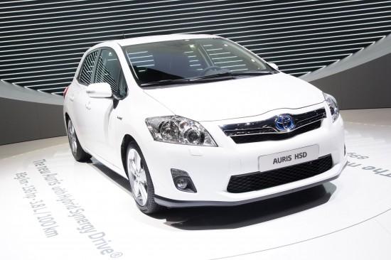 Toyota Auris HSD Geneva