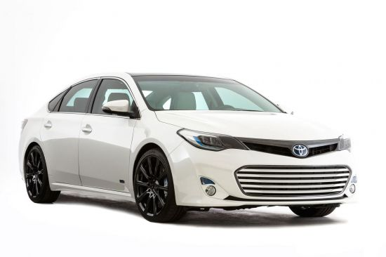 Toyota Avalon range  SEMA