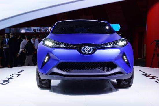 Toyota C-HR Concept Paris