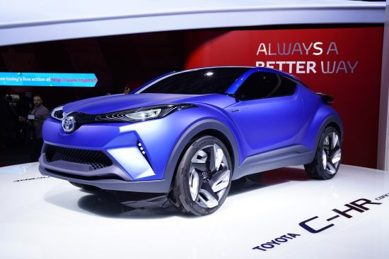 Toyota C-HR Concept Paris