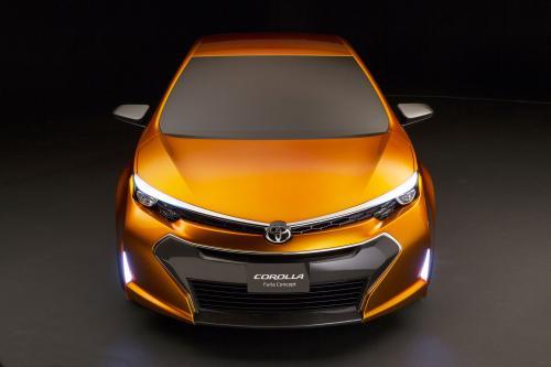 Toyota Corolla Furia - Concept 2013 года. Официальные фотографии автомобиля.
