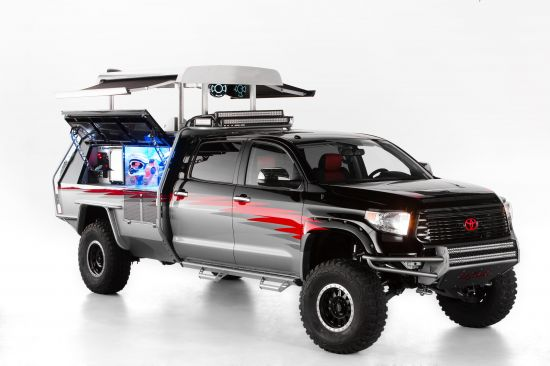 Toyota Dream Build Challenge Let's Go Moto Tundra