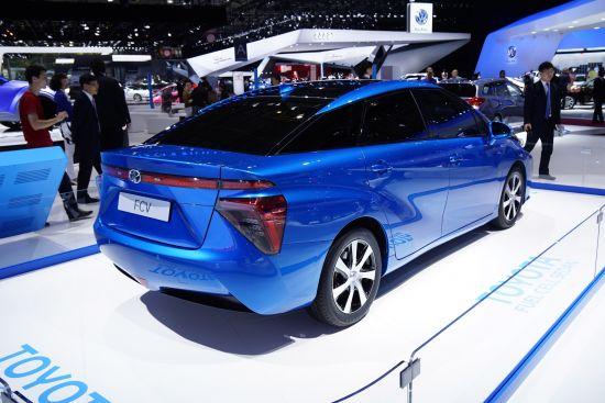 Toyota FCV Paris